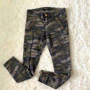 Camo jeans ankle women's size 2 denim